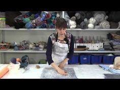 ✿Как создать неповторимые поверхности из шерсти и подручных материалов. МК валяние - YouTube