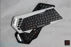Mad Catz' STRIKE M gaming keyboard folds up to fit in your pocket