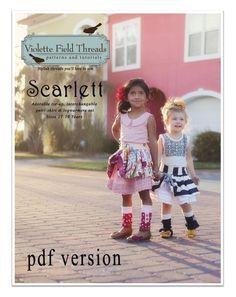 Scarlette de Violette Field Threads de 2 à 10 ans