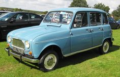 Renault 4 – really want one. The ultimate people's car, brilliantly practical, love the dashboard gear change.