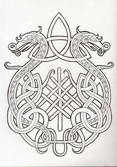 odin tattoo vikings norse mythology ~ odin tattoo + odin tattoo vikings + odin tattoo sleeve + odin tattoo symbols + odin tattoo design + odin tattoo vikings norse mythology + odin tattoo for women + odin tattoo drawings Norse Tattoo, Celtic Tattoos, Viking Tattoos, Viking Dragon Tattoo, Tattoo Symbols, Celtic Knot Tattoo, Tattoo Wolf, Viking Symbols, Viking Art