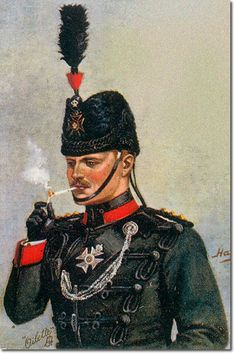 British Empire: Armed Forces: Units: British Infantry: The King's Royal Rifle Regiment, Captain Full Dress
