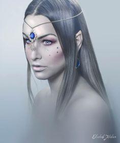 Elf Photo: Elisabeth Jakobsen Model: Nikol Herecová  http://theblackcolors.wordpress.com/