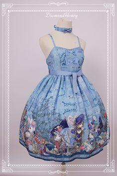 Diamond Honey -Alice and The Mad Hatter- Lolita Simple Version JSK