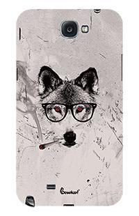 Wolf Samsung Galaxy Note 2 Phone Case