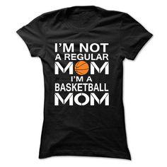 iM NOT A REGULAR MOM, IM A BASKETBALL MOM T Shirt, Hoodie, Sweatshirt