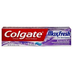 Colgate Max Fresh Knockout Gel Toothpaste 6 oz