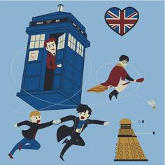 Harry Potter, Sherlock, and Doctor Who!