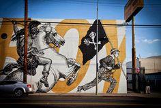 CYRCLE and Woodkid (2013) - Santa Monica Boulevard, Los Angeles (USA)