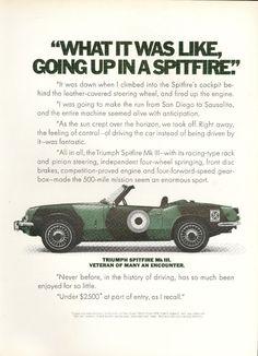 Triumph Spitfire.