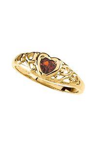 14K Mozambique Garnet Heart Ring $395.00 http://www.celebrateyourfaith.com/14K-Mozambique-Garnet-Heart-Ri-P5073C943.cfm