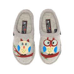 6eb36e0dc9b Women's Shoes, Mules & Clogs, Women's Olivia Slipper Shoes - Silver  Grey Owl