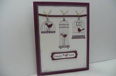 Aviary by camcao - Cards and Paper Crafts at Splitcoaststampers