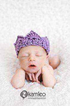 crochet crown by Just Be Happy  #crochet #crown #pattern #prop