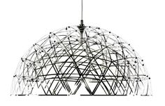 Raimond Dome 79 by Raimond Puts Raimond Dome brings the poetry of a starry night to our homes, having a powerful lamp right at the centre of its dome-shaped network of twinkling LED lights. This makes it the perfect reading or dining lamp - seen at MOOOI Pendant Lamp, Pendant Lighting, Moooi Lighting, Wire Lighting, Light Pendant, Modern Lighting, Lighting Design, Demi Sphere, Sphere Light