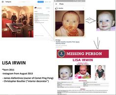 Please help us find Lisa Irwin! Comet Pizza, Illuminati Tattoo, Great Awakening, Save The Children, Open Your Eyes, Hard Truth, Know The Truth, Tom Hanks, Conspiracy Theories