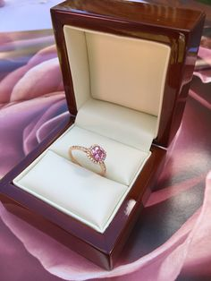 Earnest Madagascar Pink Sapphire Gems Sterling Silver Ring Solitaire Engagement Jewelry Bridal & Wedding Party Jewelry