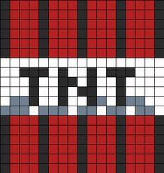 TNT bead pattern