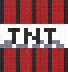 TNT Perler Bead Pattern / Bead Sprite