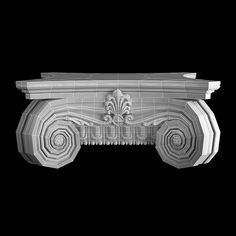 Capital 6 Model available on Turbo Squid, the world's leading provider of digital models for visualization, films, television, and games. Interior Architecture, Interior And Exterior, Roman Columns, 3d Background, Chevrolet Logo, Animation, Artwork, Occult, Ornament