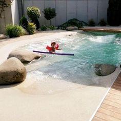 Swimming Pool Pictures, Natural Swimming Pools, Swimming Pools Backyard, Swimming Pool Designs, Pool Landscaping, Lap Pools, Natural Pools, Indoor Pools, Pool Decks