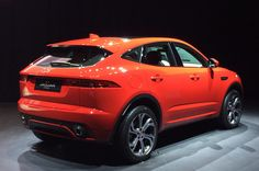 The Jaguar E-Pace SUV has arrived! Hot on the heels of the F-Pace, the compact SUV will take on rivals such as the BMW and Audi Supercars, Crossover, Top Luxury Cars, Audi Q3, Jaguar E, Jaguar Cars, Compact Suv, Jeep Grand Cherokee, Car Accessories
