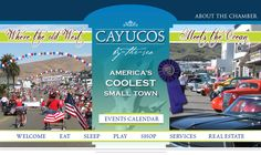Cayucos Calender of Events - 2014 Antique Street Faires, Peddler's Faires, & other events.