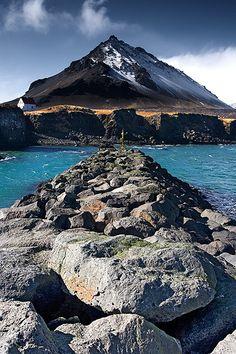 Arnarstapi on the Snæfellsnes peninsula Iceland