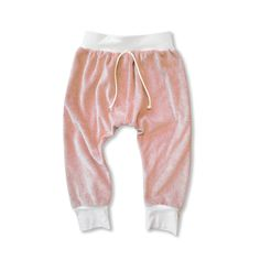 A personal favorite from my Etsy shop https://www.etsy.com/listing/262653282/pink-velour-baby-skinny-sweats-baby