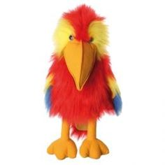The Puppet Company Large Birds Scarlet Macaw Hand Puppet ** Find out more about the great product at the image link. (This is an affiliate link) Glove Puppets, Hand Puppets, Finger Puppets, Scarlet, Full Body Puppets, The Puppet Company, Living Puppets, Bird Puppet, Fancy Dress For Kids