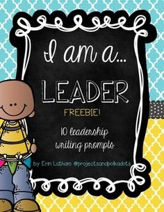 leadership writing prompts Learn how to write about your leadership abilities for uc essay prompt 1 (aka personal insight question 1): make it specific, personal and engaging.