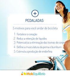 Aposente o carro. Vá de bicicleta! http://maisequilibrio.com.br/5-motivos-para-andar-de-bicicleta-3-1-2-654.html