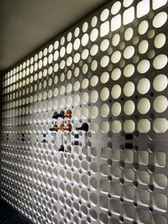 Concrete Wine Wall