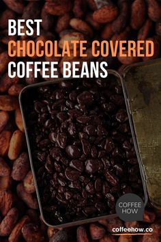 You love chocolate. You love coffee. Put them together, and the result is way more than the sum of its parts! Research agrees that coffee and chocolate make a great combination. #ChocolateCoveredCoffee #ChocolateCoffee #CoffeeAndChocolate Chocolate Covered Espresso Beans, Chocolate Espresso, Best Chocolate, Chocolate Party, Coffee Nutrition Facts, Snack Recipes, Snacks, Party Recipes, Cappuccino Recipe