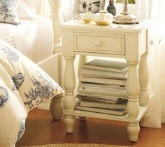 Caroline Bedside Table #potterybarn