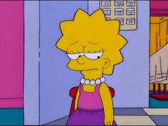 Relatable Pictures of Lisa Simpson Simpsons Meme, The Simpsons, Simpsons Frases, Simpsons Quotes, Simpson Wallpaper Iphone, Sad Wallpaper, Wallpaper Iphone Cute, Cartoon Wallpaper, Lisa Simpson
