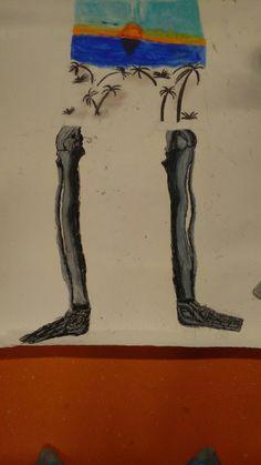 Dit zijn de skeletbenen.