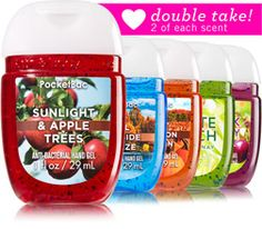 Best of Fall 10-Pack PocketBac Sanitizers - Soap/Sanitizer - Bath & Body Works