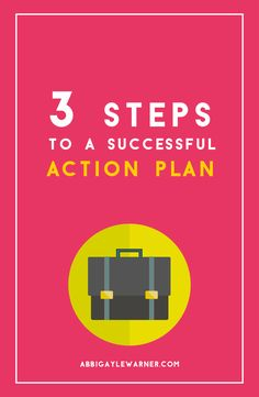 3STEPS TO AN ACTION PLAN