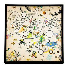 Framed Led Zeppelin Album II, $64, now featured on Fab. [Vintage Favs]