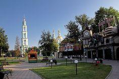 Детская площадка в парке. Тамбов