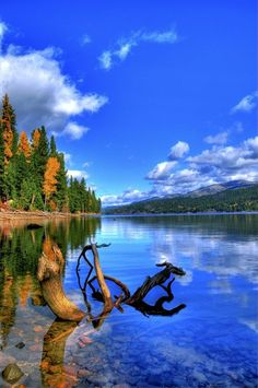 ♕♕Sparkling Payette Lake at McCall, USA♕♕