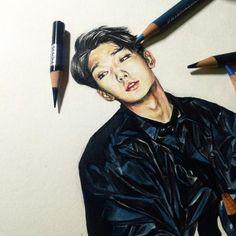@iKON_YG #bobby #바비 #김지원 #김지원닷컴 #Bobby such awesome Bobby fan art! <3