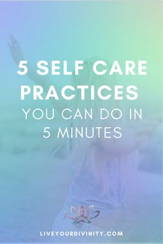 Self care practices in in 5 minutes. Psychic Development, Self Development, Personal Development, Psychic Abilities Test, Purpose Driven Life, Self Care Activities, Anxiety Help, Self Care Routine, Psychic Readings