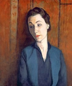 Albert Marquet - The Woman in Blue