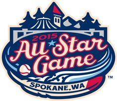 All-Star Game  Primary Logo (2015) - Northwest League All-Star Game - Spokane, Washington