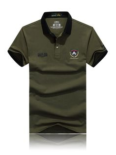 Men POLO T-Shirt AFS Jeep Club VIII Batt (end 9/23/2017 4:10:00 AM)