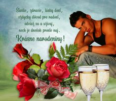 narodeninove priania Alcoholic Drinks, Rose, Ideas, Tatoo, Alcoholic Beverages, Roses, Thoughts, Liquor, Alcohol Mix Drinks
