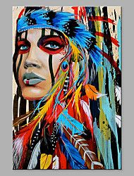 Abstract oil painting Indian Woman Canvas Print Picture Home Wall Art Decor GiftAbstract Canvas Wall Art Print Feather Painting, Oil Painting Abstract, Abstract Canvas, Painting Prints, Art Prints, Painting Canvas, Woman Painting, Spray Painting, Art Paintings
