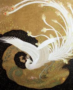 Regeneration by Toshiyuki Enoki. The Chinese phoenix is the founder of all animals, it is also a creature that stands for eternity, immortality and resurrection. It symbolizes the emperor..